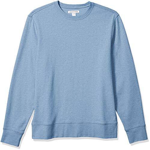 Amazon Essentials Long-sleeve Lightweight French Terry Crewneck Sweatshirt Heren Sweatshirt