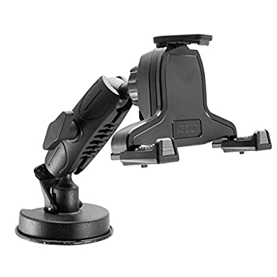 iBOLT xProDock NFC Bizmount - Phone Holder/Mount with Heavy Duty Suction Cup Base and 2m microUSB Cable- for Your Windshield, Dashboard - for Telematic Commuters, Fleets, Cars, Large Trucks, Vans