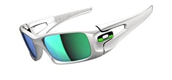 oakley men s sunglasses crank case white polished white jade iridium rh amazon co uk