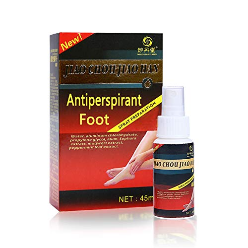 GARYOB Antiperspirant Foot Spray, Stop Sweaty, Smelly Feet, Help Prevent Blisters, Foot Care