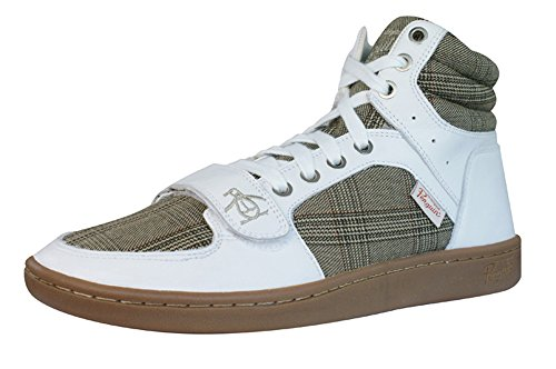 Penguin Obby Mens Trainers/Shoes-White-11 - Original Penguin Trainers