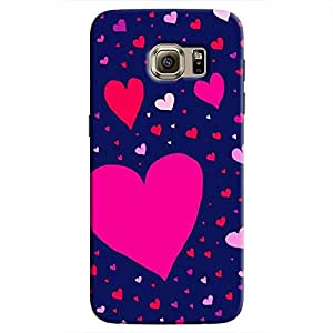 Cover It Up Flying Love Hard Case For Samsung Galaxy S7 Edge