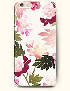 OOFIT Apple iPhone 6 Case 4.7 Inches - Peony in Full Bloom
