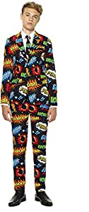 OppoSuits Teen Boys 'Badaboom' Party Suit Tie, Size 10