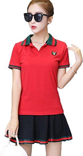 事業内容加入コンセンサス(ケイミ)KEIMI スポーツウェア 上下セット ジャージセットアップ 半袖 tシャツ ミニスカート テニス 野球 ゴルフウェア トレーニング 運動着 カジュアル