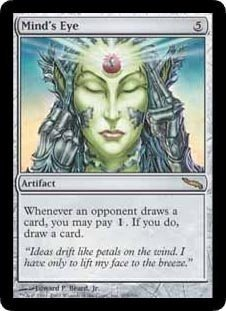 Mind's Eye (Magic the Gathering : Mirrodin #205 Rare)