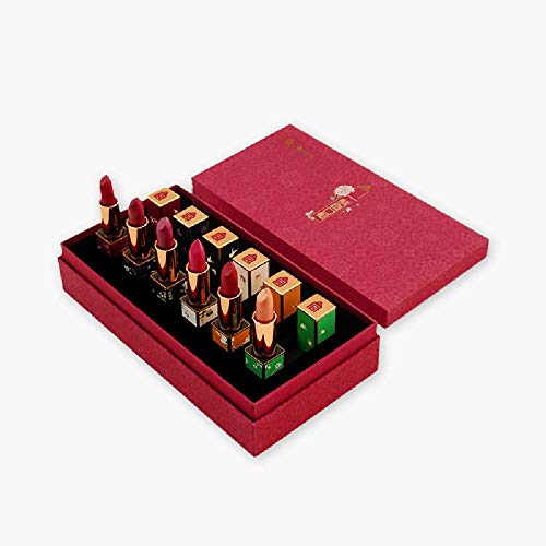 [Impression of The Forbidden City] Lipstick Gift Box Set Girlfriend Birthday Gift Colorful Lip Gloss Culture Design Original Craft Design Lipstick Forbidden City Lipstick Gift Box