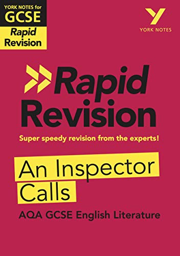 York Notes for AQA GCSE (9-1) Rapid Revision: An Inspector Calls