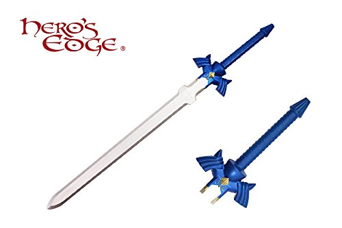 MysticalBlades Legend of Zelda Hylian Hyrule Twilight Master Princess Link Foam Sword (Master Sword Foam Sheath)