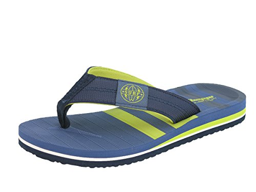 enfants d'été Tongs et Toe pour Tripple marine Tongs adolescents Bleu Badeschuhe plage Beppi Thongs de vp01q8