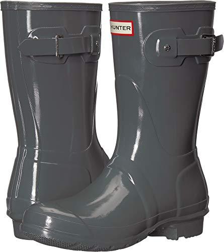 Hunter Women's Original Short Gloss Rain Boots Feather 10 M US
