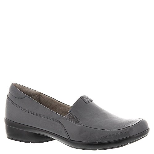 (Naturalizer Women's Channing Slip-On,Graphite Leather,US 5)