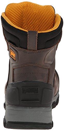 Magnum Menns Baltimore 6,0 Komp Tå Vanntett Arbeid Boot Kaffe