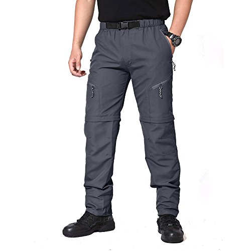 MAGCOMSEN Men's Sportswear Quick Dry Hiking Cargo Short Walking Hiking Trousers