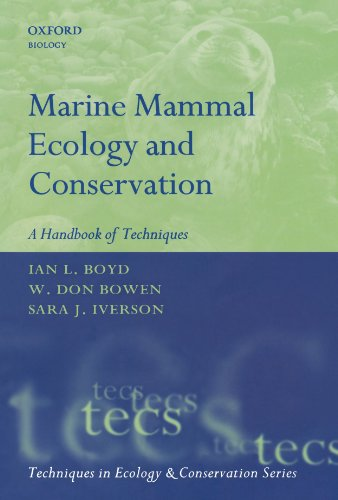 Marine Mammal Ecology and Conservation: A Handbook of Techniques (Techniques in Ecology & Conservation)