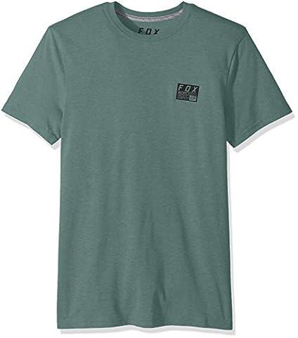 Fox Men's Mx Raised Short Sleeve Tech Tee, Dark Fatigue, Large (Fox Mx Shirts)