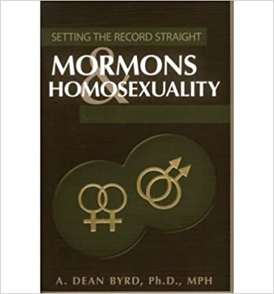 Mormons & Homosexuality (Setting the Record Straight) - Common