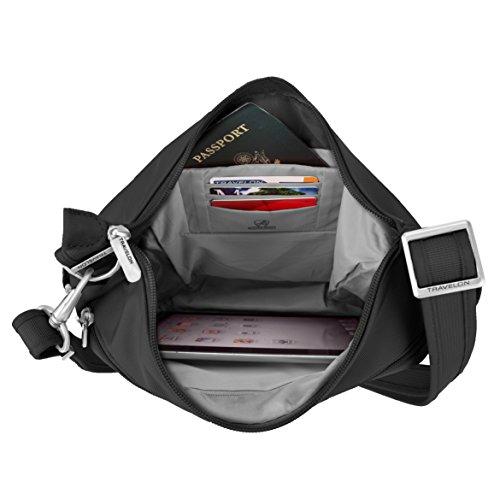 Travelon 42757, Borsa a tracolla donna nero