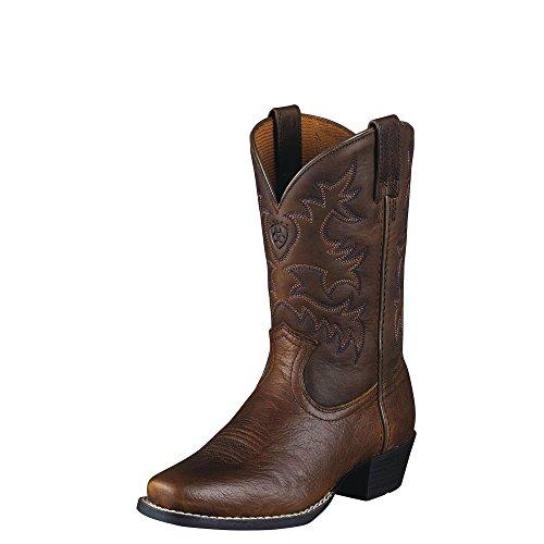 Ariat Legend Western Boot , Brown Oiled Rowdy, 2.5 M US Litt