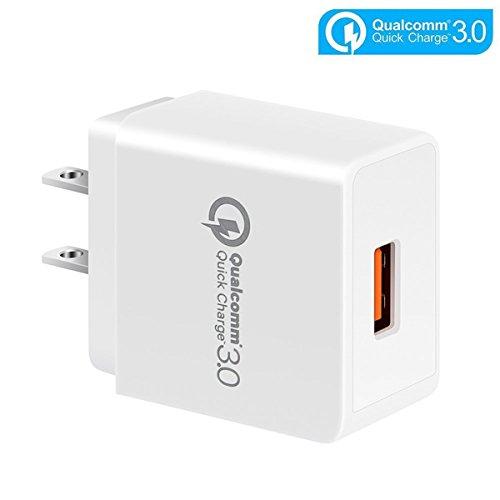 [Quick Charge 3.0] Cargador de Pared USB Cargador Rápido, TFHEEY 18W Cargador Adaptador de Energía para Móviles,...