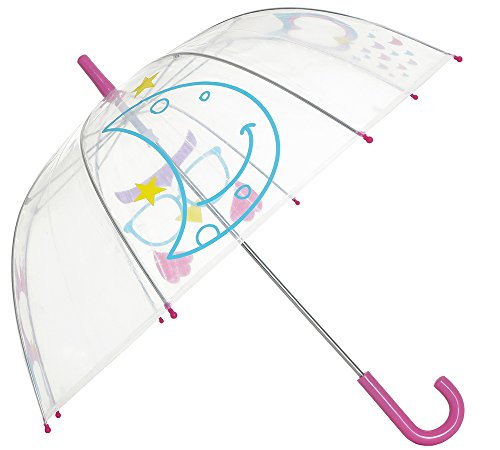 Capelli New York Kid's Owl Printed Umbrella Multi Combo No Sz