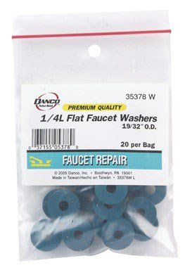 FLAT FAUCET WASHER 1/4L by DANCO MfrPartNo 35378W by Danco