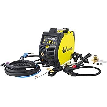Weldpro 200 Amp Inverter Multi Process Welder with Dual Voltage 220V/110V Mig/Tig/Arc Stick 3 1 welder/welding machine