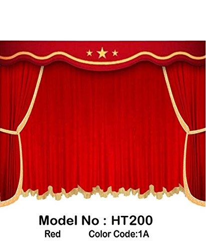 Amazon com: Saaria HT200 12 ft W X 8 ft H Velvet Fabric Custom