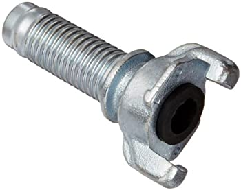 "Campbell Fittings UH-4 Cast Ductile Iron Hose Fitting, Universal Coupler, 1"" Hose End Barbed"