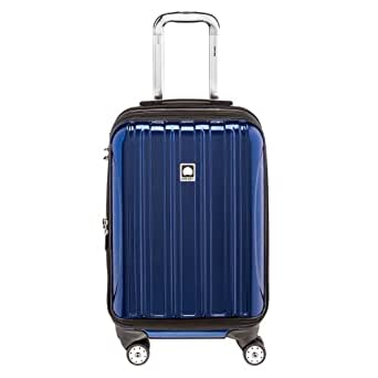 Delsey Luggage Helium Aero International Carry On Expandable Spinner Trolley, Azul (Cobalt Blue)