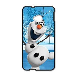 Happy Frozen happy snow doll Cell Phone Case for HTC One M7