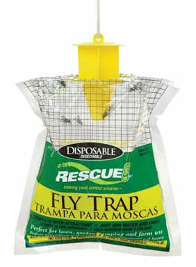 STERLING INTERNATIONAL INC Rescue FTD Disposable Non-Toxic Fly Trap (12 Traps)