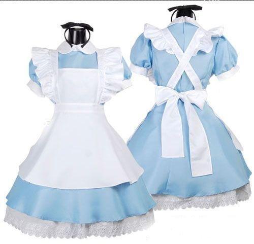 Alice wind maid cosplay costume Headband + high knee socks with AA01's Adventures in Wonderland (japan import) by Iwamato