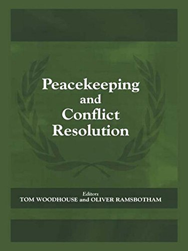 Peacekeeping and Conflict Resolution (Cass Series on...