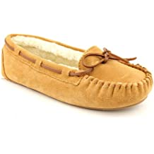 Slippers International Women's Molly Moccasin 13 B(M) US Chestnut