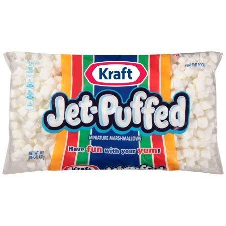 Kraft Jet-Puffed Mini Marshmallows (Pack of 20) by Generic (Image #1)