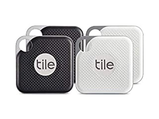 Tile Pro with Replaceable Battery - 4 pack, Combo - Black & White (B07GLXZT83) | Amazon Products