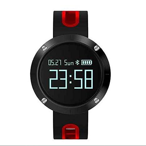 Actividad Tracker, contador de calorías, llamada SMS WhatsApp reloj inteligente, Bluetooth deporte Smartwatch
