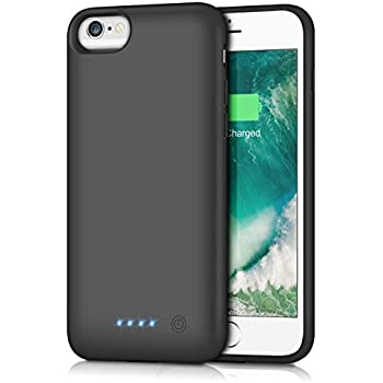 Amazon.com: Pxwaxpy Battery Case for iPhone 6S 6 6000mAh ...