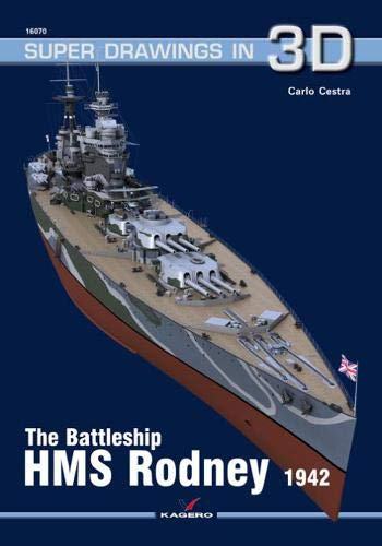 The Battleship HMS Rodney (Super Drawings in 3D)