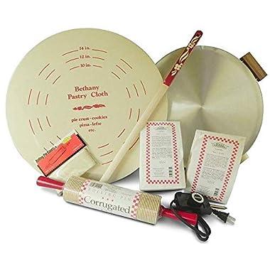Bethany Housewares 760 Lefse Starter Kit - Aluminum