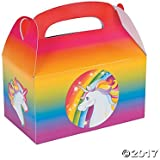 Unicorn Favor Boxes - 12 ct