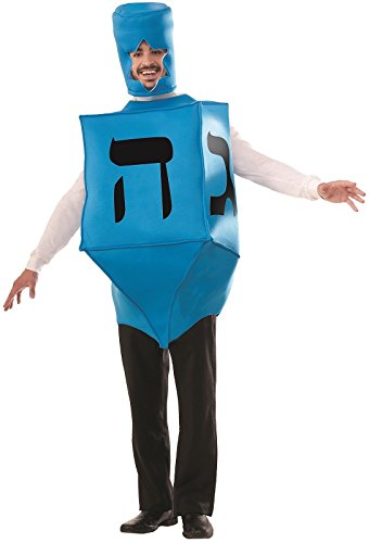 Forum 74160 (One Size) Adult Dreidel Costume Blue -