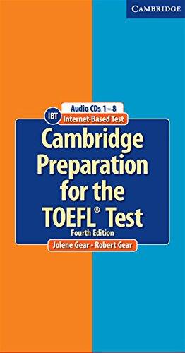 Cambridge Preparation for the TOEFL® Test Audio CDs (8) (Cambridge Preparation for the TOEFL Test)