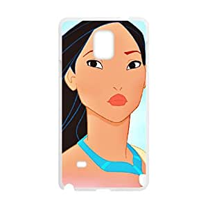 Samsung Galaxy Note 4 Cell Phone Case White Pocahontas B4W9K