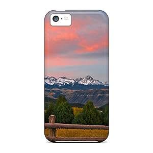 KoQDGQS1825nLpug Snap On Case Cover Skin For Iphone 5c(sunrise Over Sneffels Range)