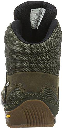 Merrell ANNEX MID GTX - botas de senderismo de cuero hombre Verde (Oliveolive)