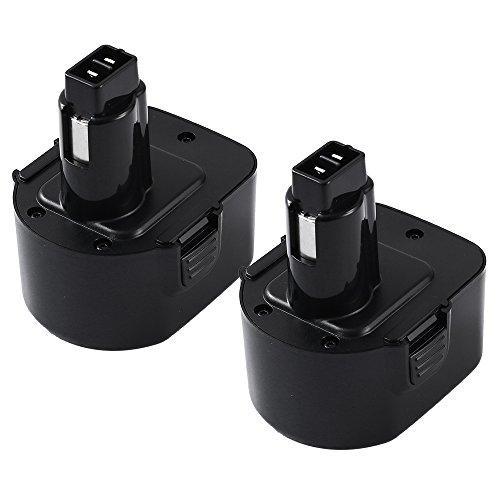3.0Ah Ni-Mh DC9071 Replacement for Dewalt 12V XRP Battery DW9071 DW9072 DE9037 DE9071 DE9072 DE9074 Cordless Power Tool Batteries