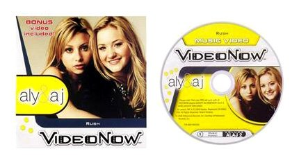 Hasbro Videonow Personal Video Disc Volume ALAJ 2- Aly & AJ - Rush