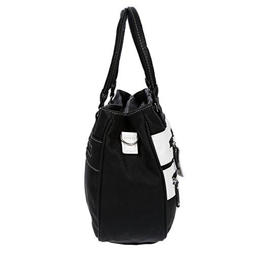 Bag Black 31x24x10 cm LLUPP Black LLUPP Women's Shoulder Women's HWxnqcIOFf
